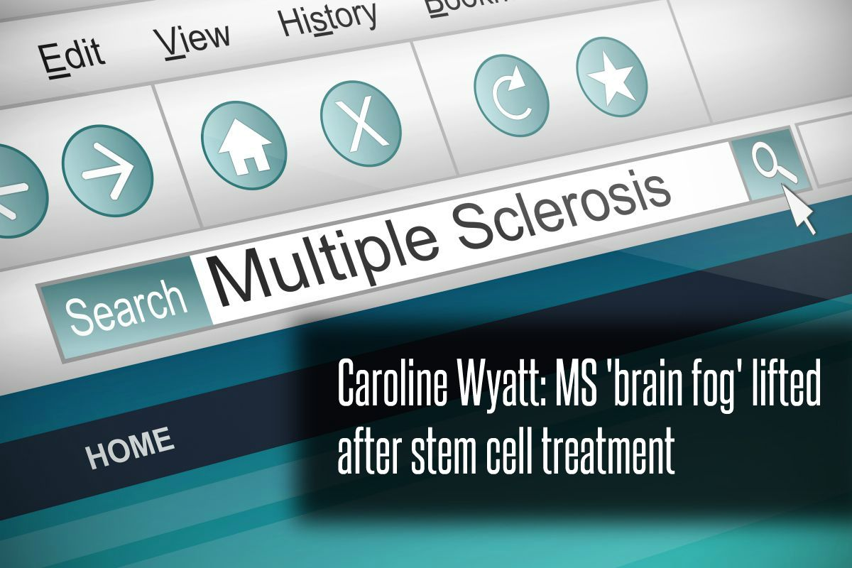 In The News_Caroline Wyatt - MS 'brain fog' lifted after stem cell treatment (2017)