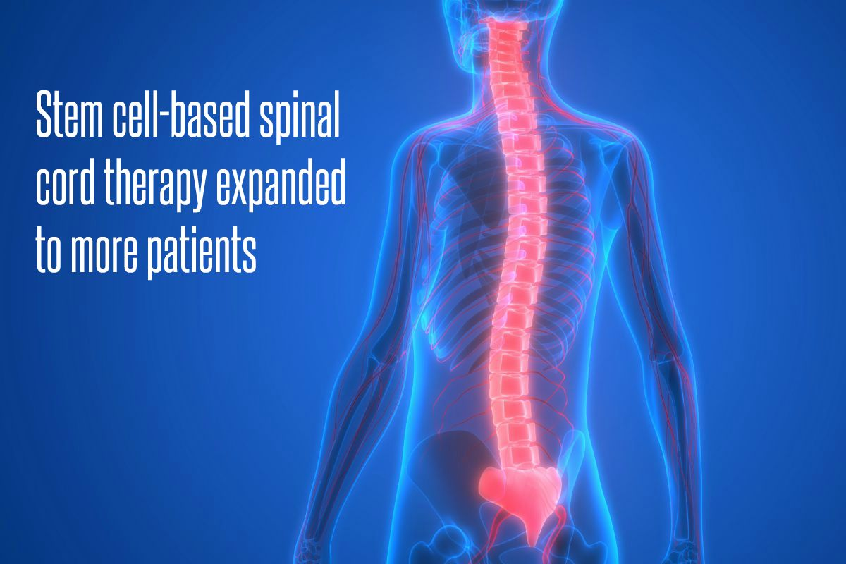 In The News_Stem cell-based spinal cord therapy expanded to more patients (2017)
