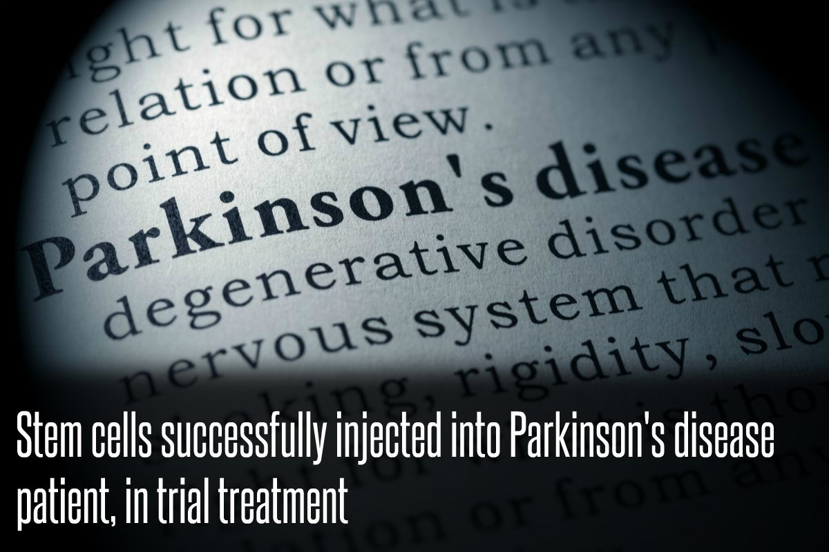 In The News_Stem cells successfully injected into Parkinson's disease patient, in trial treatment (2016)